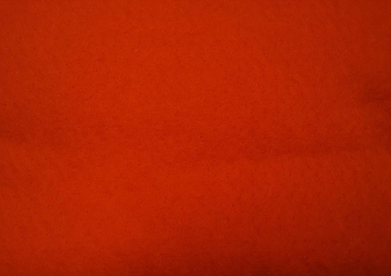Dun naaldvilt, rood, vanaf