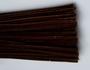 Chenilledraad, dark brown, 50 cm lang