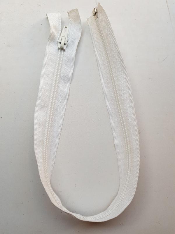 Rits-opruiming, wit 45 cm (WD3)