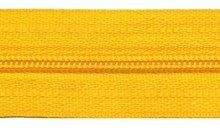 Ritsen van de rol maat 3, spiraalrits, geel