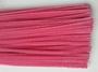 Chenilledraad, pink, 50 cm lang