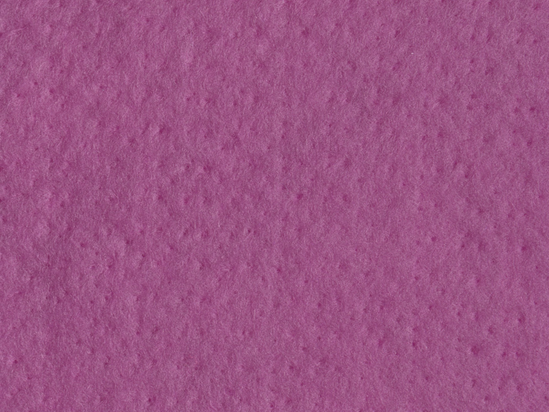 Dun naaldvilt, geverfd, oud roze, 50x95 cm