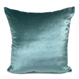 Esperanza Deseo ® kussen - Velvet, jade groen ± 45x45cm