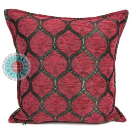 Zuurstok roze kussen - Honingraat ± 45x45cm