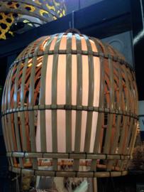 Hanglamp Ratna XL 60x50 Natural Bamboe
