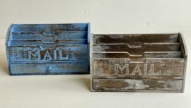 Houten Mailbox