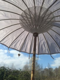 Bali Parasol 2 meter all weather - wit