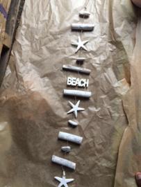 Driftwood guirlande 'beach'