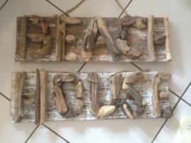 Driftwood bord BEACH / HOUSE