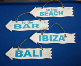 Pijl_white/blue_Bali/Ibiza/to the bar/to the beach