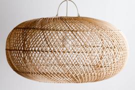 Hanglamp Ubud  UFO 50 cm diameter Natural Rotan