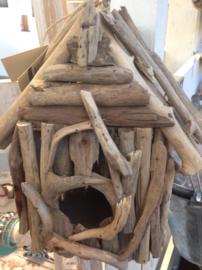 Driftwood vogelhuisje