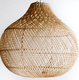Hanglamp Tegallalang  50 cm diameter Natural Rotan