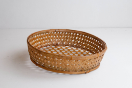 Fijne bamboe mand voor op tafel - natural