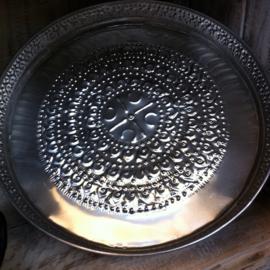 Dienblad rond aluminium 3 maten