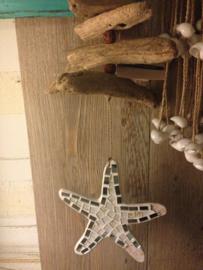 Driftwood met mozaik hanger