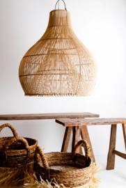 Hanglamp Bandung 50 cm diameter Natural Rotan
