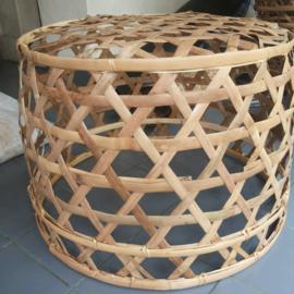 Stoere bamboe mand - neutraal