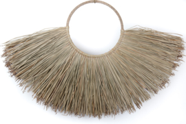 Decoratie java grass wandhanger