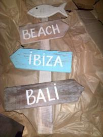 Beach-ibiza-bali wegwijzer