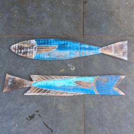 Vis aan de wand of gebruik als tapaz plank