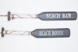 Paddle_grey/white 100cm_BEACH HOUSE/BEACH BAR