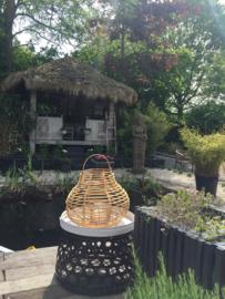 Stoere bamboe mand - zwart