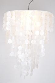 Capiz schelpen hanglamp Large 60x80 wit