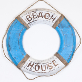 Boei_blue/white 50cm - BEACH HOUSE/LIFE'S A BEACH