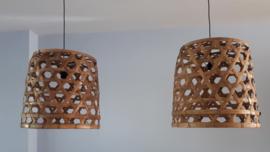 Hanglamp bamboe taps