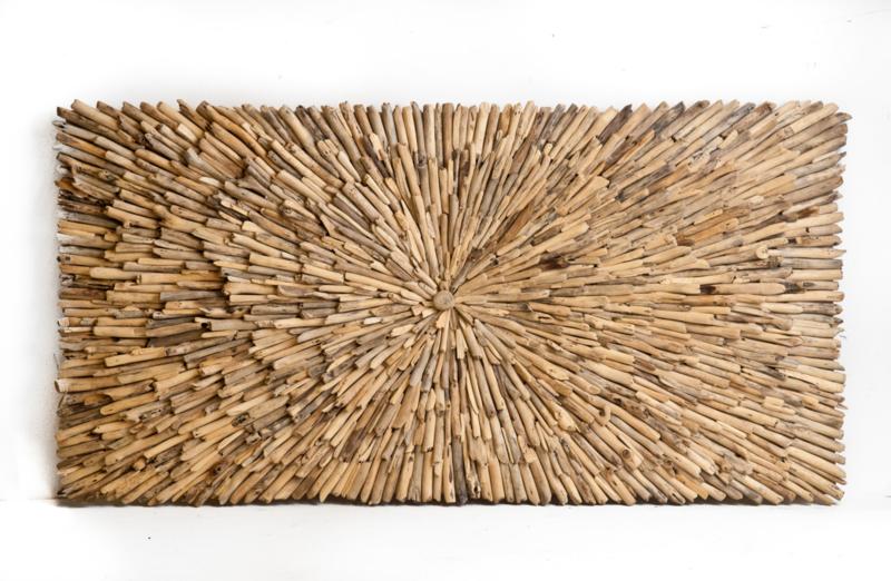 Driftwood wandpaneel