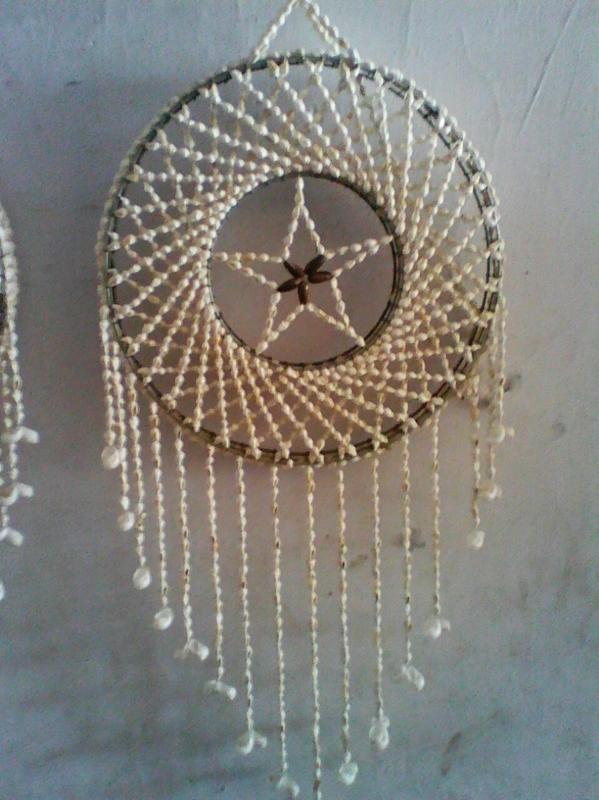 M_schelpen dromenvanger 30 cm diameter