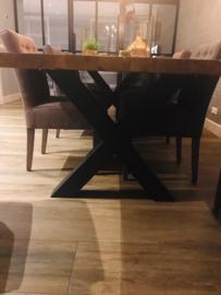 Eettafel Massief Eiken Boomstam tafel