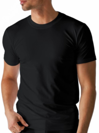 Mey: Dry Cotton - Olympia-Shirt - Zwart