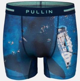 Pullin: 2 Squale - Boxer - Blauw