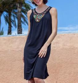 Vania: Parels - Kleed - Zwart