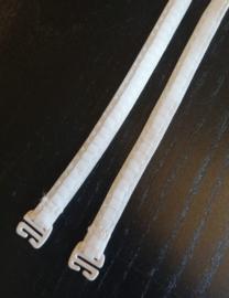 BH schouderbandjes: Plissees - Roos