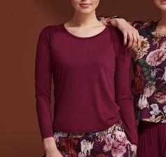 Essenza: Waona - Shirt - Bordeau