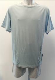 Schiesser - Pyjama - Blauw
