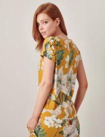 Essenza: Saona Rosalee - Shirt - Geel