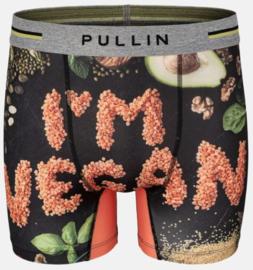 Pullin: Vegan - Boxer - Zwart/Multi