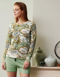 Essenza: Ginni Georgini - Sweater - Groen