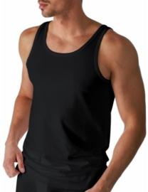Mey: Dry Cotton - Athletic-Shirt - Zwart