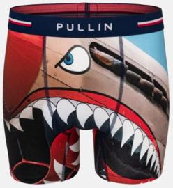 Pullin: Tigrevolant - Boxer - Donker Blauw/Multi