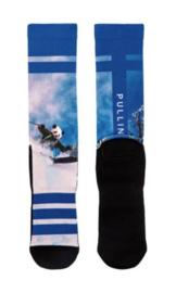 Pullin: PandaPower - Sokken - Blauw