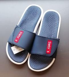 Sibi's : Navy - Slippers - Blauw
