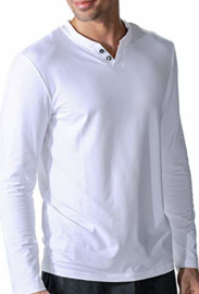 Mey - T-shirt Lange mouw - Wit
