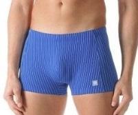 Mey: Stripe - Zwemshort - Licht Blauw