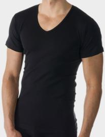 Mey: Casual Cotton - Shirt - Zwart