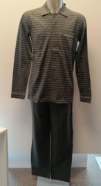Manned: Urban chic - Pyjama (doorknoop) - Kaki
